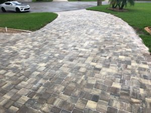 paved residential driveway in Palm Coast