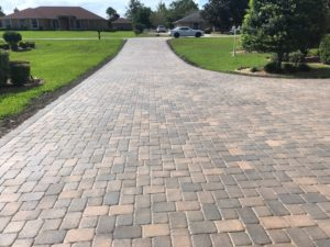 Residential Stone Driveway in Palm Coast